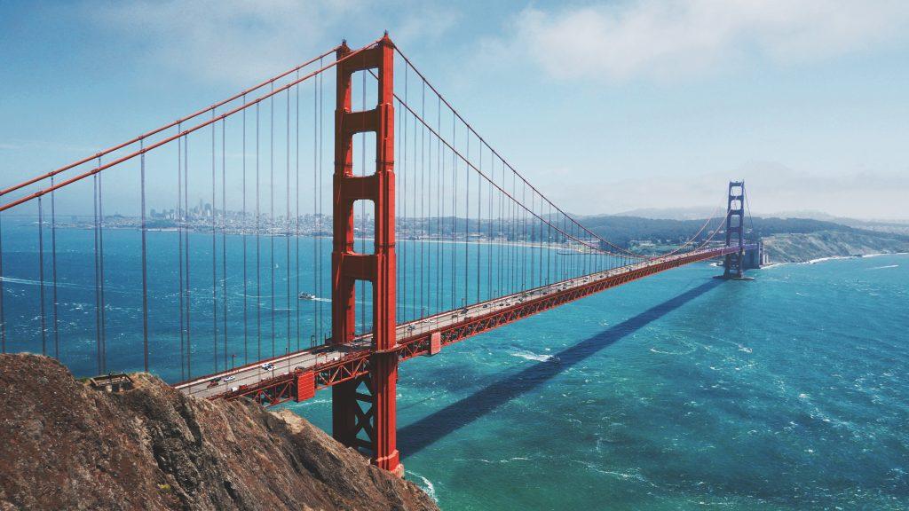 puente de acero Golden Gate
