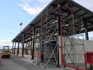 cubierta metalica talleres aeropuerto jose maria cordoba