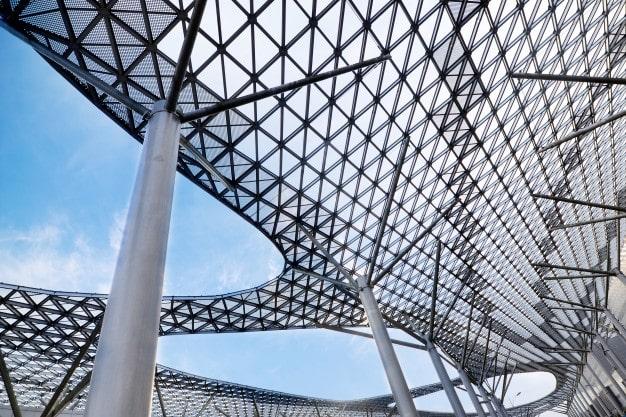 estructuras en acero protección contra fuego
